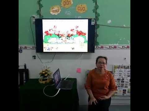 Bé làm quen n,m cô Lê Thị Vân  thực hiện ( Trẻ 5-6 tuổi)