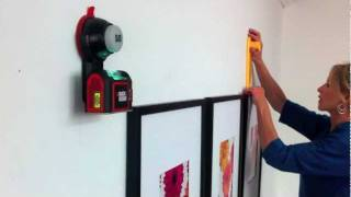 How To Hang Pictures With Hang & Level And Sure-grip Laser Level