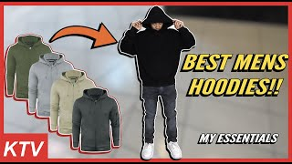 TOP 5 HOODIES MENS STREETWEAR + HOW TO STYLE
