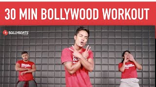 Best Bollywood dance fitness home workout   30 Min Fat burning cardio for weight loss   BollyBeats