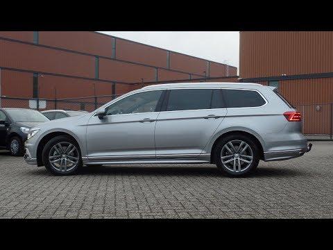 Volkswagen Passat Variant 2018 R-Line Pyrit Silver Metallic Highline walk around & Inside
