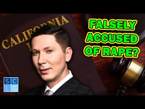 Falsely Accused of Rape? Advice from a former D.A.