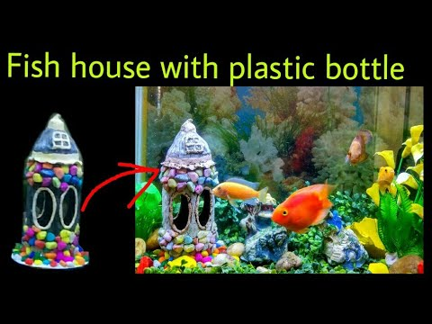 DIY Aquarium decoration item with Plastic bottle/Best out of waste