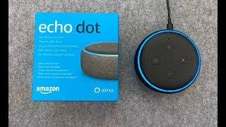 Amazon Echo Dot 3 Generation Alexa und Smarthome?! Review Unboxing Test Deutsch German