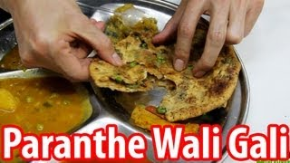 preview picture of video 'Paranthe Wali Gali - Delhi's World Famous Fried Bread Street'