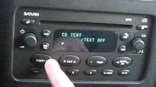 2004-2005 Saturn Ion & Vue MP3 Radio in 2000-2002 Saturn S-Series