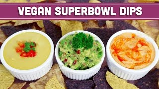 3 Game Day Dips– Vegan & 5 Ingredients or Less! - Mind Over Munch