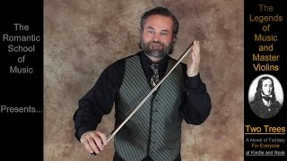 How To Really Hold A Violin Bow / Paganini