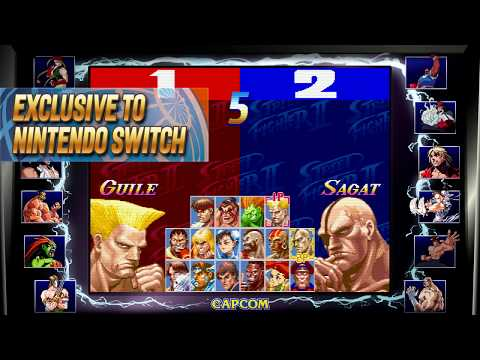 Street Fighter 30th Anniversary Collection – Exclusive Tournament Battles – Nintendo Switch thumbnail