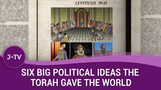 FASCINATING! Professor explains how the Torah shaped much of Western politics as we know it.
