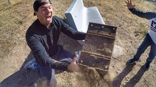 WE FOUND A REAL BURIED TREASURE CHEST! MOST EPIC TREASURE HUNT EVER! - Video Youtube