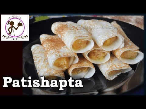 Patishapta Pitha Recipe | Traditional Bengali Sweet Patishapta Recipe with Kheer