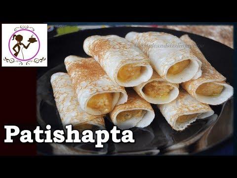 Patishapta Pitha Recipe | Traditional Bengali Sweet Patishapta Recipe with Kheer