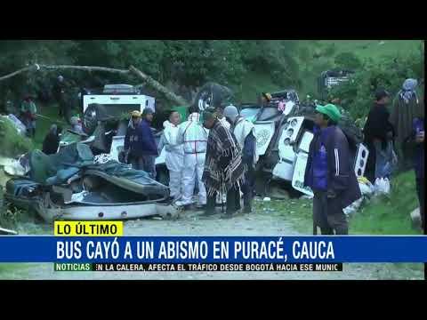 Seis muertos y 17 heridos deja accidente de bus que cubria la ruta Mocoa-Cali