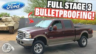 "Fully ""Bulletproofing"" Our 6.0L Ford F350 Powerstroke (Stage 3 Install)"