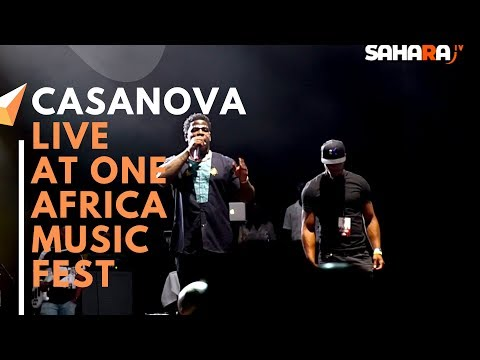 CASANOVA Of Roc Nation Performs Live At #ONEAFRICAMUSICFEST NYC 2019