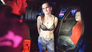 AFTER 3 WAY FIGHT GIRLFRIEND PROPOSES WHILE UNDER ARREST