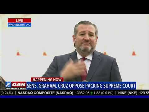 Sen. Cruz on Democrats Packing the Supreme Court: Democrats are 'Perfectly Happy to Tear Down the Institutions of Democracy'