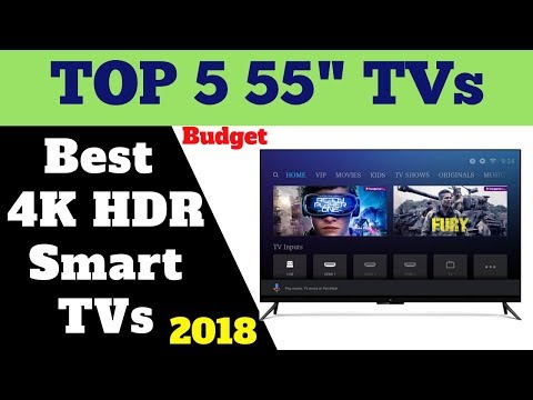Top 5 Best Budget 55 inches 4K Smart TVs | Review