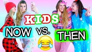 Kids Now Vs. Kids Then CHRISTMAS EDITION