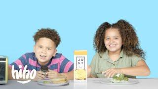 Kids Try Plant Based Foods | Kids Try | HiHo Kids