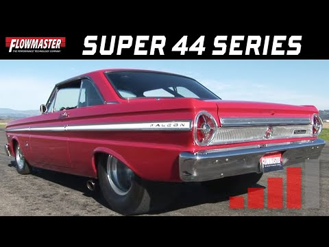 1965 Ford Falcon with Flowmaster Super 44