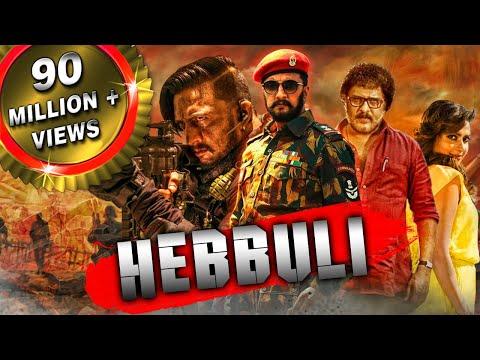 Download Hebbuli (2018) Hindi Dubbed Full Movie | Sudeep, Amala Paul, V. Ravichandran HD Mp4 3GP Video and MP3