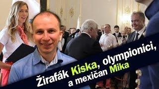 Žirafák Kiska, olympionici a mexičan Mika! Zlaté slovenské Rio!