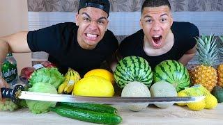FRUIT NINJA IN REAL LIFE !!! (GEFÄHRLICH)   Kelvin Und Marvin