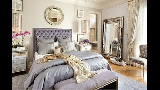 Lavender Purple And Gray Interior Color Shade Variations -Decoration Ideas And Inspirations For Home