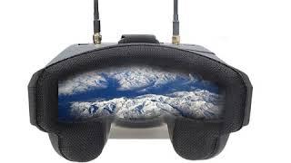 TOBYRICH TR1 EV800D 5.8G 40CH Diversity FPV Goggles 5 Inch 800*480 Video Headset HD DVR Build in 120