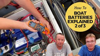 Boat Battery Bank - How To Manage Your Marine Batteries