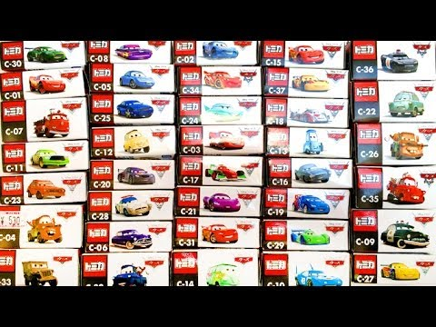 Cars 2 Diecast Complete Collection CARS Pixar Toys Takara Tomy Disney カーズ・トミカ