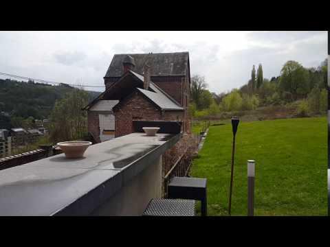 Dinant / Belgium Leffe Beer Museum Garden