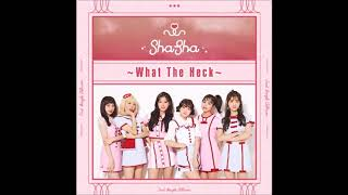 [Audio] SHA SHA (샤샤) - WHAT THE HECK [SHASHA 2ND SINGLE 'WHAT THE HECK']
