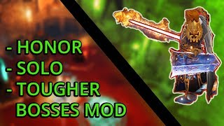 Lord Linder Kehm Bossfight - Honor - Solo - Tougher Bosses Mod