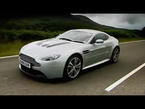 Aston Martin Vantage Test Drive