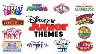Theme Songs! Compilation   Disney Junior