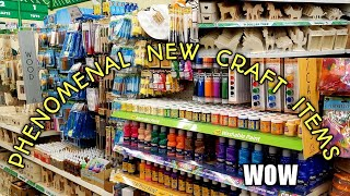 Come With Me To A PHENOMENAL Dollar Tree/ ALL NEW CRAFT ITEMS/ MUST WATCH!!!