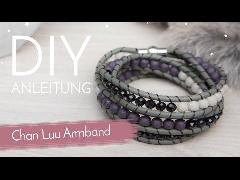 DIY Anleitung - Chan Luu Armband