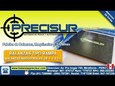 Basculas Industriales Tipo Rampa - PRECISUR PERU