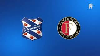 Zo klonk Heerenveen-Feyenoord (1-1) op Radio Rijnmond