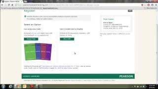 Pearson MyLab Temporary Access Code