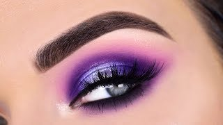 Purple Glam Eye Makeup Tutorial | Morphe 39S Such A Gem Eyeshadow Palette