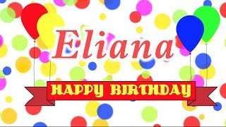 Happy Birthday Eliana Song