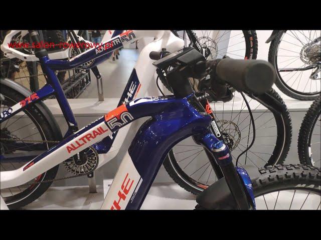 Видео Велосипед Haibike Flyon XDURO AllTrail 5.0 i630Wh сине-бело-оранжевый