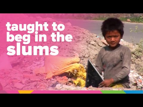 Being Taught To Beg In The Slums Of India | India | Orphan's Promise
