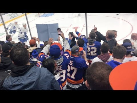 John Tavares Returns Home for The First Time!! Islanders vs. Maple Leafs (2/28/19)
