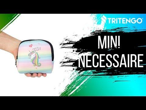Mini Necessaire em Neoprene Personalizada para Brindes Corporativos
