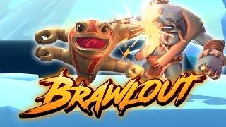 Brawlout Early Beta Gameplay ft. OHKO